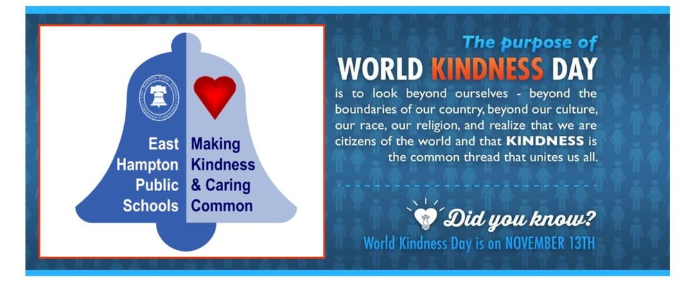 Monday, November 13 - World Kindness Day