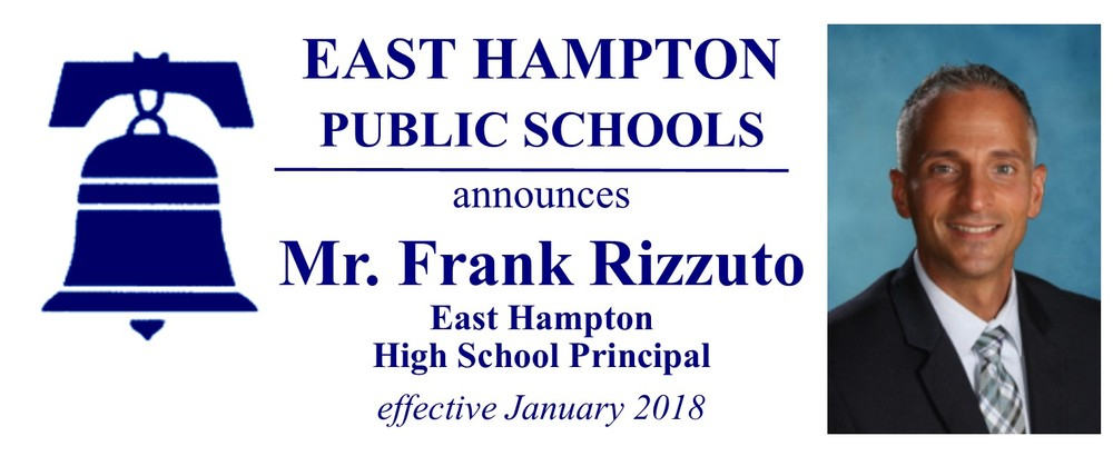High School Principal Announcement