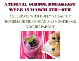 It's National School Breakfast week!