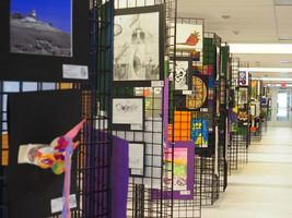 East Hampton High School Hosts District Wide Art Show