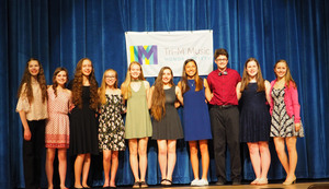 High School inducts 11 newest Music Honor Society Members