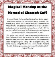 Magical Monday is May 14th!