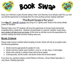 The Book Swap = New Reading Opportunties!