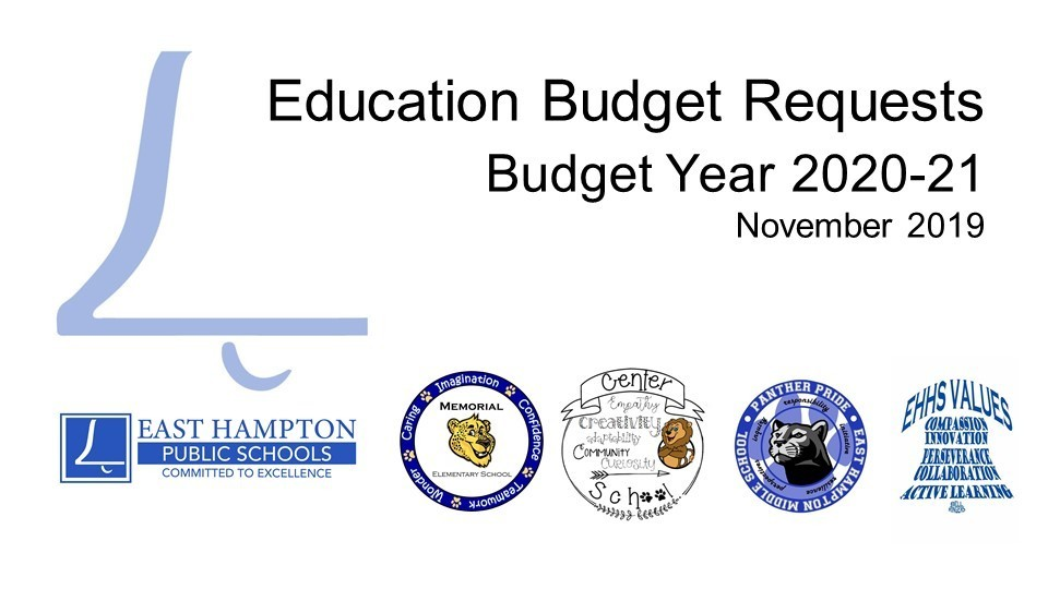 Budget Request List from November 25