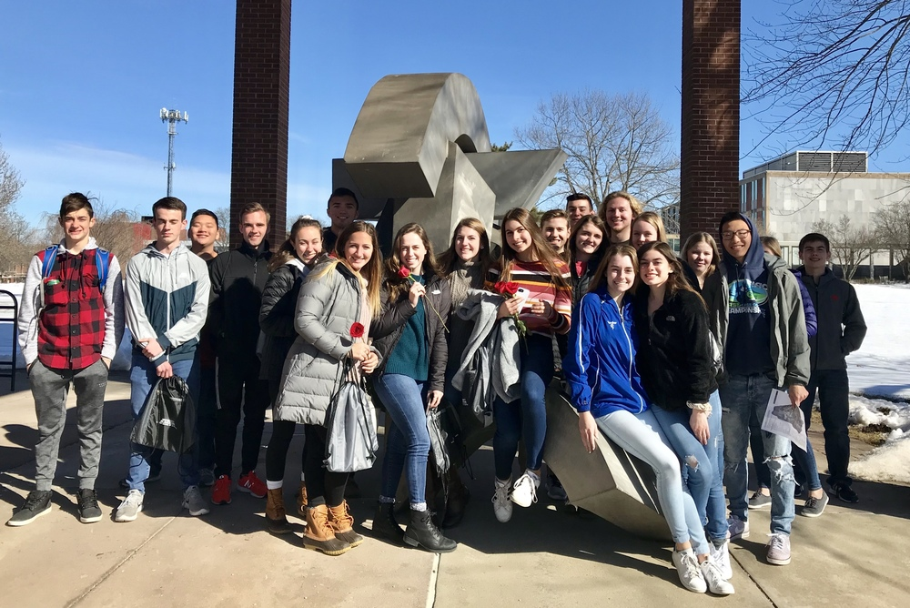 Business Students Explore the University of Hartford during Workshop Field Trip