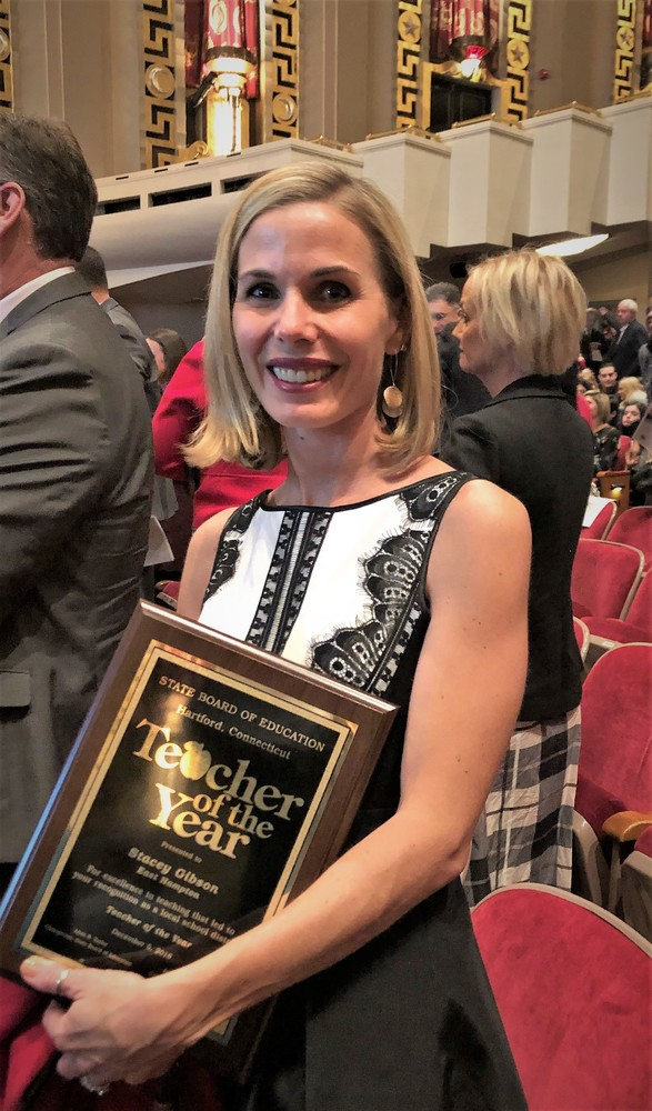 East Hampton Teacher of the Year honored