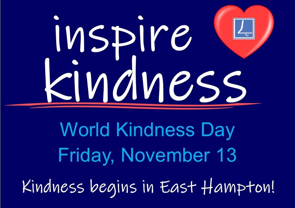 World Kindness Day 11/13/20
