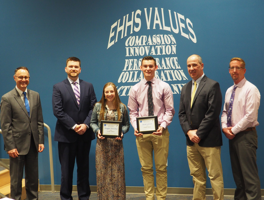 High School Athlete, Artists Scholars and Teachers recognized at Board of Education Meeting