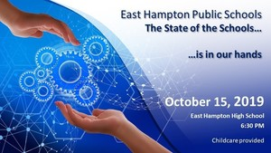 THE STATE OF THE SCHOOLS - OCTOBER 15