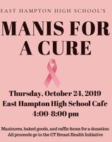 Manis for a Cure Thursday 4 - 8 pm