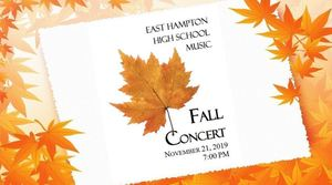 EHHS 2019 Fall Concert