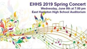 EHHS Concert Wed. June 5th at 7:00 pm