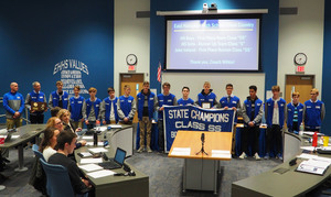 Boys Cross Country Class SS State Champs