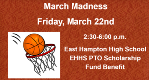 March Madness Friday March 22nd.