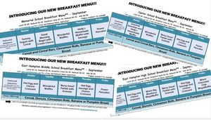 New Breakfast Options Available in All Schools!