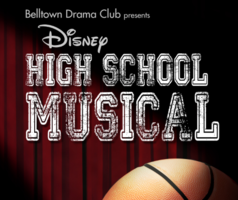 Save the Date!  High School Musical Coming to EH High School  April 5th - April 7th