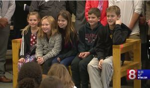 Center School is thankful for its new Buddy Bench