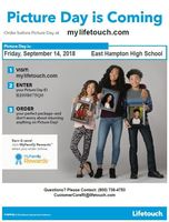 HS Picture day is this Friday Sept. 14th