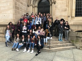 Art & Photography Students tour Yale University Art Gallery