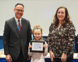 This Week's BOE Meeting Recognitions