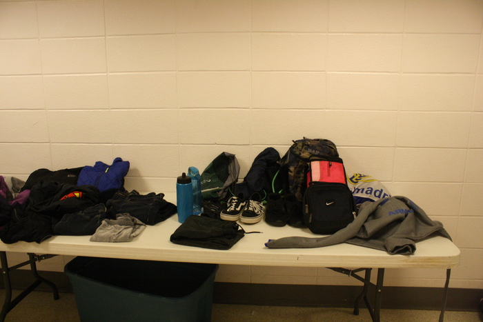 Shoes, clothes, Water Bottles. Lost & found