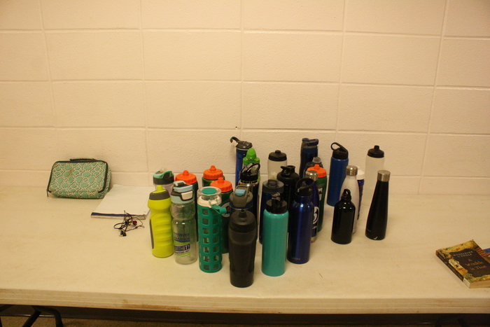 Lost & found water bottles