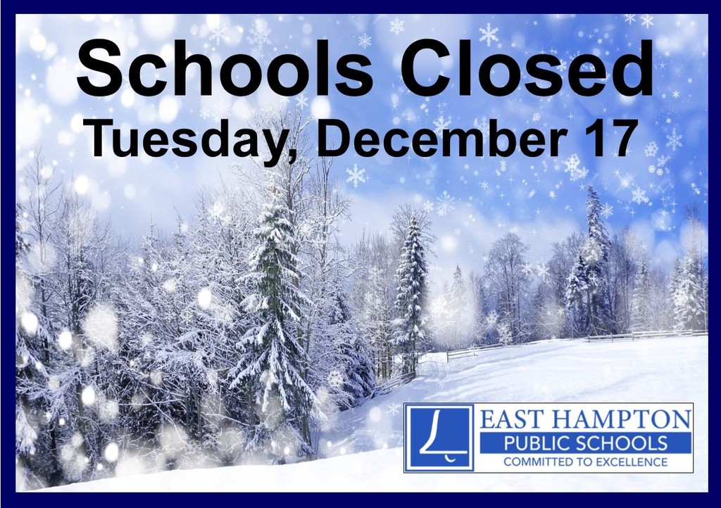 Schools are closed on 12/17/19