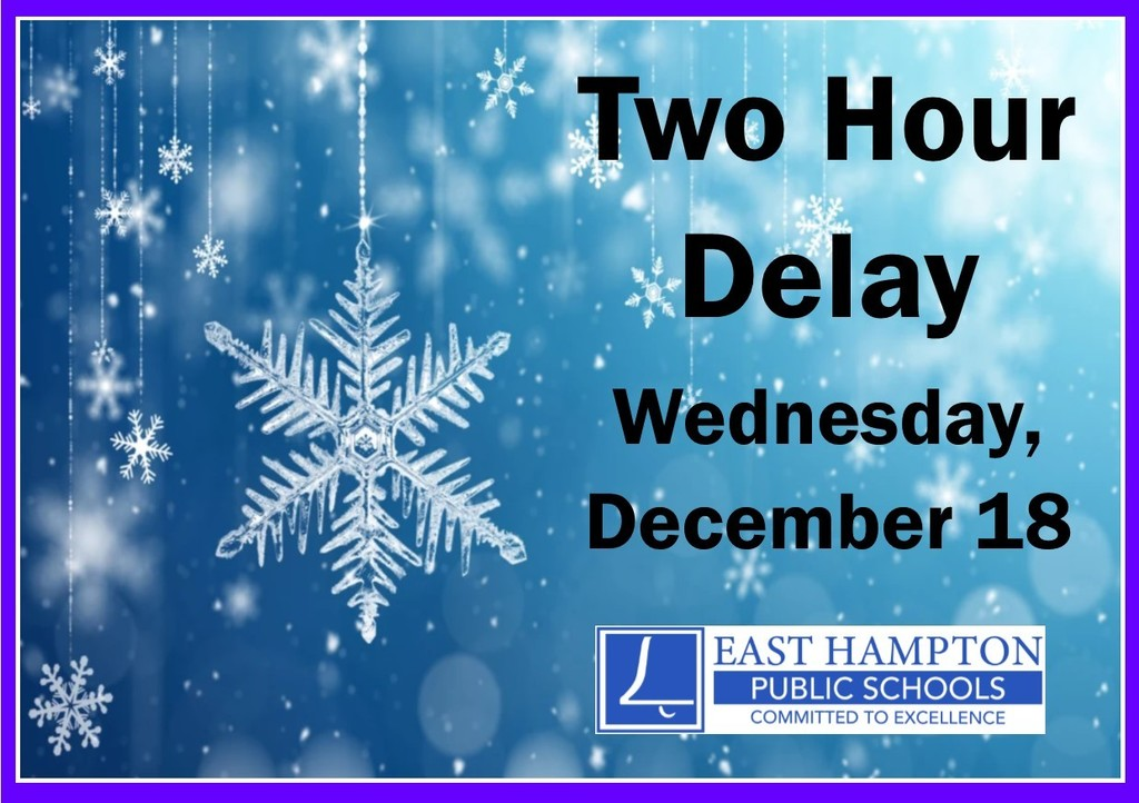Two Hour Delay on 12/18