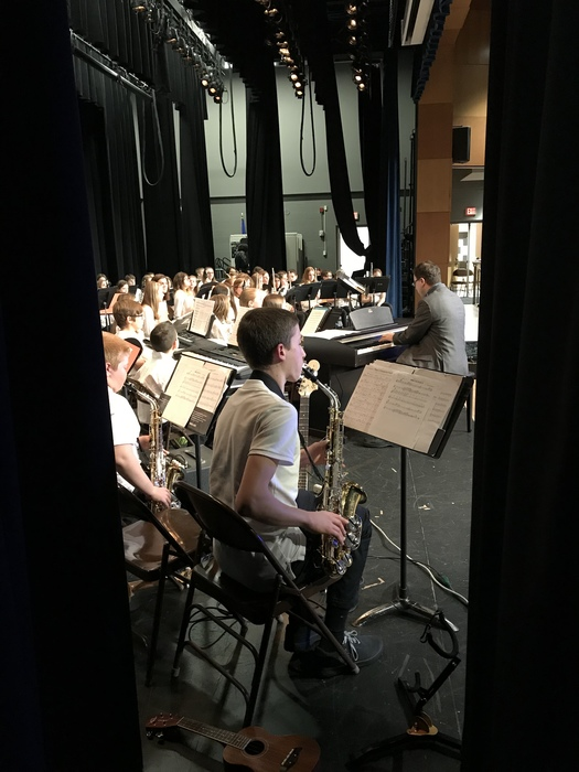 Middle School Concert at High School