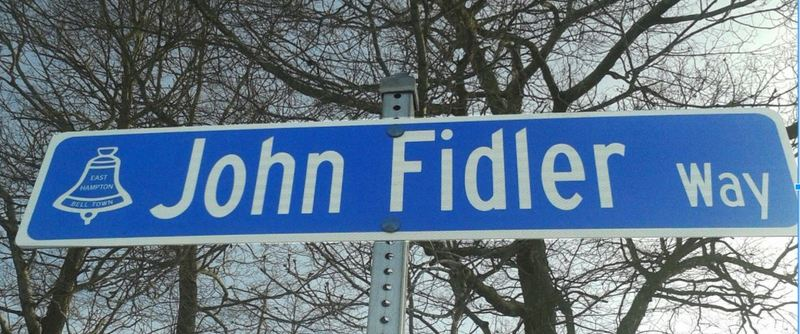Photo of John Fidler Way Street sign